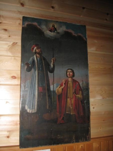 Святые Борис и Глеб. Икона с храма Слюдянки