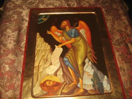 Святой пророк и Креститель Господень Иоанн Предтеча. Икона храма Слюдянки