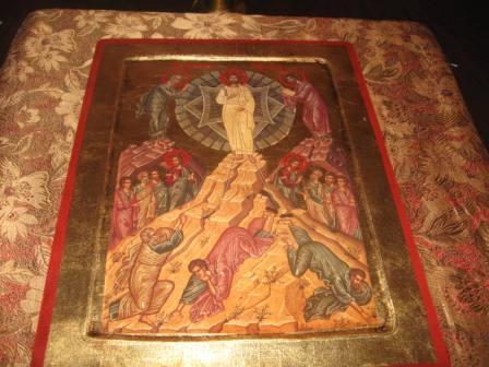 Икона Преображения в храме Слюдянки