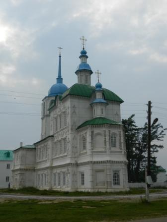 Посольский монастырь на Байкале