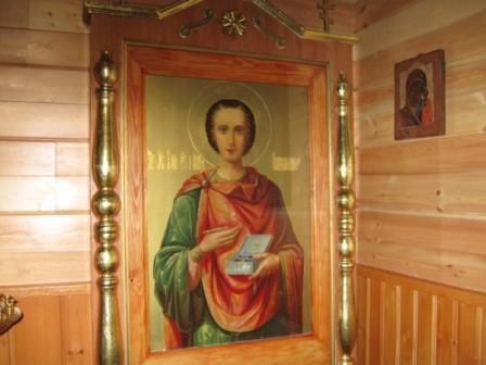 Святой великомученик и целитель Пантелеимон. Слюдянка
