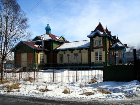 Старая церковь Слюдянки