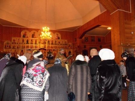 Вечер, посвященный престольному празднику святителя Николая Мирликийского  в Свято-Никольском храме прошел 19 декабря 2014 года26 Декабрь 2014