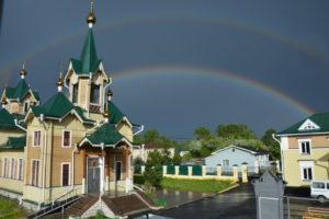 Свято-Никольский храм, Слюдянка. Байкал