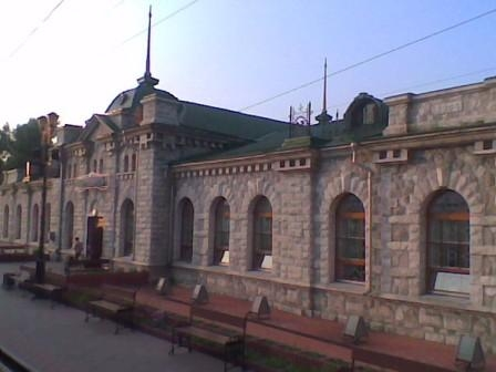 Слюдянка, вокзал