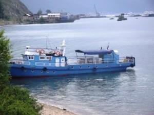 69 кораблик у берега