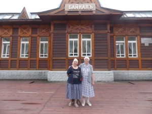 73 на вокзале порта Байкал