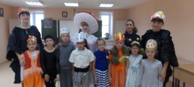 Выступление воспитанников Слюдянского Дома Детского Творчества на праздник Покрова Богородицы