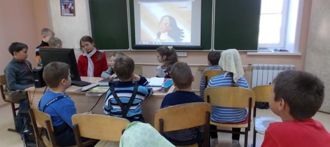На другой день после праздника Собора Архистратига Михаила и прочих Небесных Сил бесплотных 22 ноября в классе воскресной  школы был проведен общий день именин.