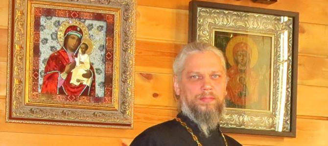 Поздравляем настоятеля Свято-Никольского храма города Слюдянка протоиерея Олега Ушакова с наградой!