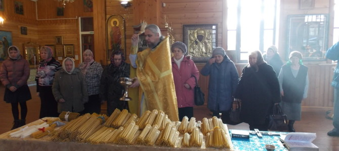 «Сретенские» свечи и чин их освящения