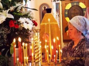 Приход, праздник, крестный ход
