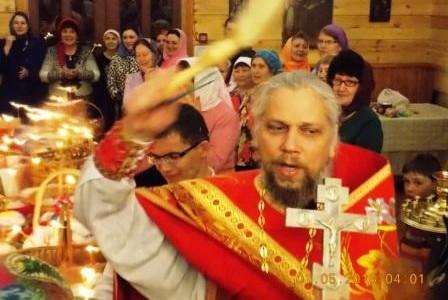 Праздники на Свято-Никольском приходе в 2016 году от Вербного Воскресенья до Пасхи (По проповедям святого Феофана Затворника)