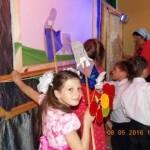 Праздник, Пасха, Воскресная школа, теневой театр