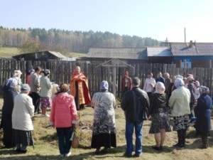 Новости, освящение, поклонный крест