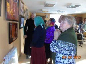Выставка картин, клуб «Огонек»