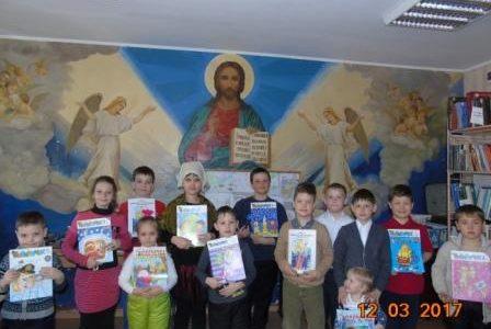 Живое слово мудрости духовной.  Праздник православной книги на приходе.
