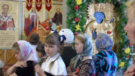 Престольный праздник Свято-Никольского храма, прошел  21-22 мая 2017 года