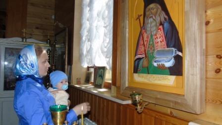 11 июня 2017 года Свято-Никольский храм Слюдянки первый раз празднично почтил память святителя Луки Войно-Ясенецкого