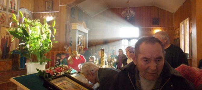 Попрощались Владимиром Ивановичем, одним из старых прихожан нашего храма