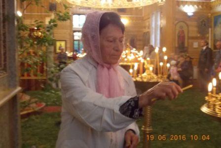 24 февраля 2018 года ушла ко Господу еще одна старая прихожанка нашего храма – Галина Рукавицина