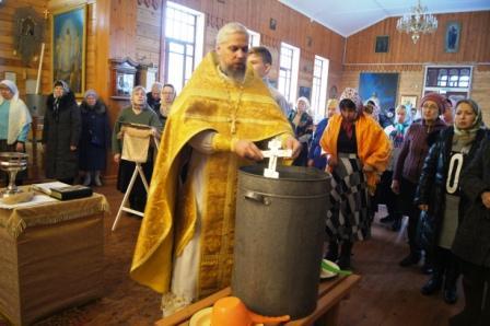 Престольный праздник «Зимний Никола» на Свято-Никольском приходе города Слюдянка