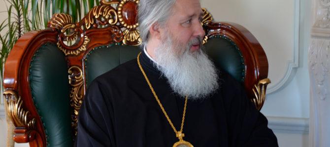 Состоялась рабочая встреча митрополита Максимилиана и Александра Ведерникова