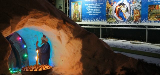 Праздник Рождества Христова на Свято-Никольском приходе
