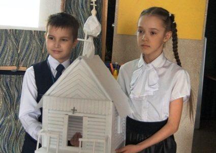 Православная детская конференция прошла на базе воскресной школы Свято-Никольского храма г. Слюдянка 27 марта 2021 года на Родительскую субботу